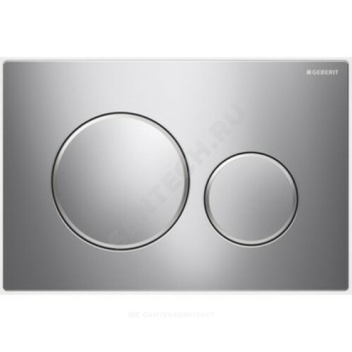 Кнопка для инсталляции Sigma 20 хром глянц/мат механ Geberit 115.882.KH.1