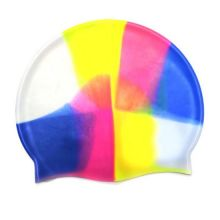 Силиконовая шапочка для плавания Afiter, Цвет: Радужный