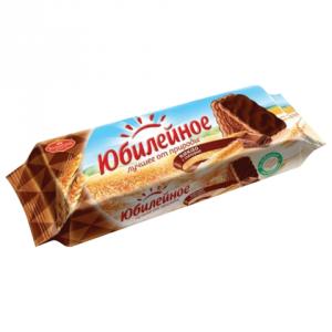 Печенье ЮБИЛЕЙНОЕ Витаминизированное с темной глазурью 116г