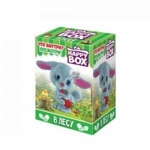 Игрушка с конфетой HAPPY BOX в лесу 18г