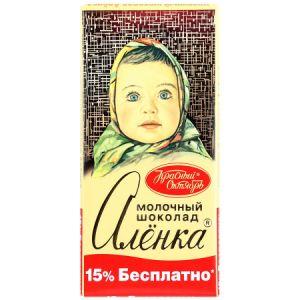 Шоколад АЛЕНКА молочный Красный октябрь 200г