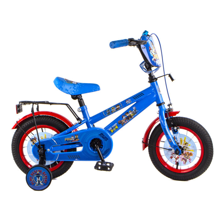 """Детский велосипед, Navigator Щенячий патруль, колеса 12"""", стальная рама, стальные обода, ножной тормоз, защитная накладка на руле и выносе, , мягкие T"""