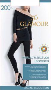 Колготки GLAMOUR Velour 200den Nero 2