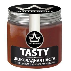Шоколадная паста TASTY 200гр Миндаль/кайенский перец