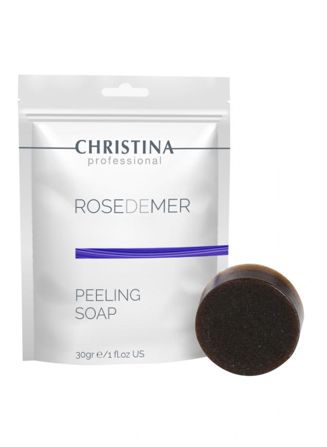 Пилинговое мыло Rose de Mer Christina (Роз Де Мер Кристина) 30 г