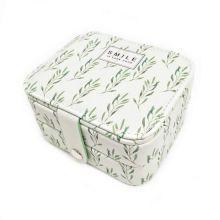 Компактная шкатулка для ювелирных изделий, Цвет: Зелёный, Орнамент: Smile