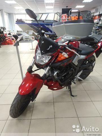 Yamaha MT-03 с пробегом 153 км