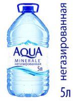 Вода питьевая AQUA MINERALE негазированная, 5 л