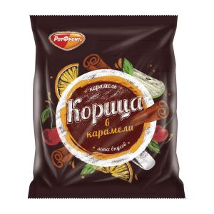 Карамель КОРИЦА в карамели микс вкусов 200г