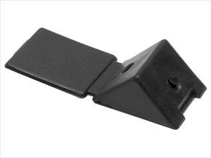 Монтажный уголок №12 Черный (100 шт/уп) (МУ-черный)