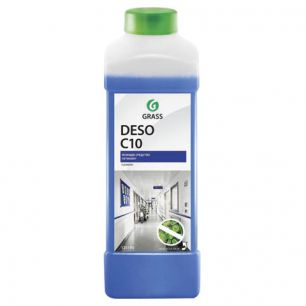 Средство моющее c дезинфицирующим эффектом 1 л GRASS DESO C10, концентрат, 125190