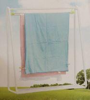 Раздвижная вешалка для сушки постельного белья