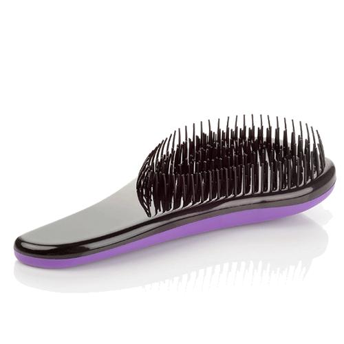 Щётка для распутывания волос Detangler, 18.5 см. Цвет: фиолетовый.