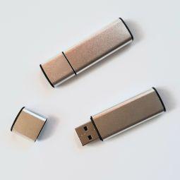 металлические флешки с логотипом
