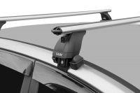 Багажник на крышу Kia Soul (c 2019г, без рейлингов), аэродинамические дуги (53 мм)