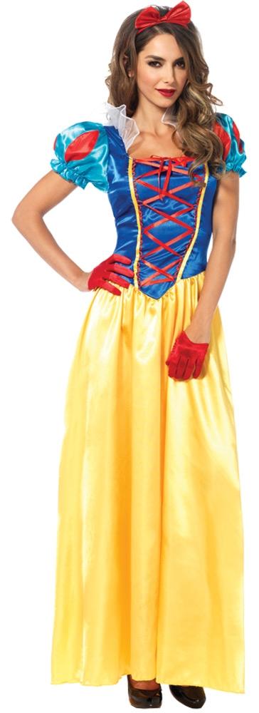 Взрослый костюм принцессы Белоснежки