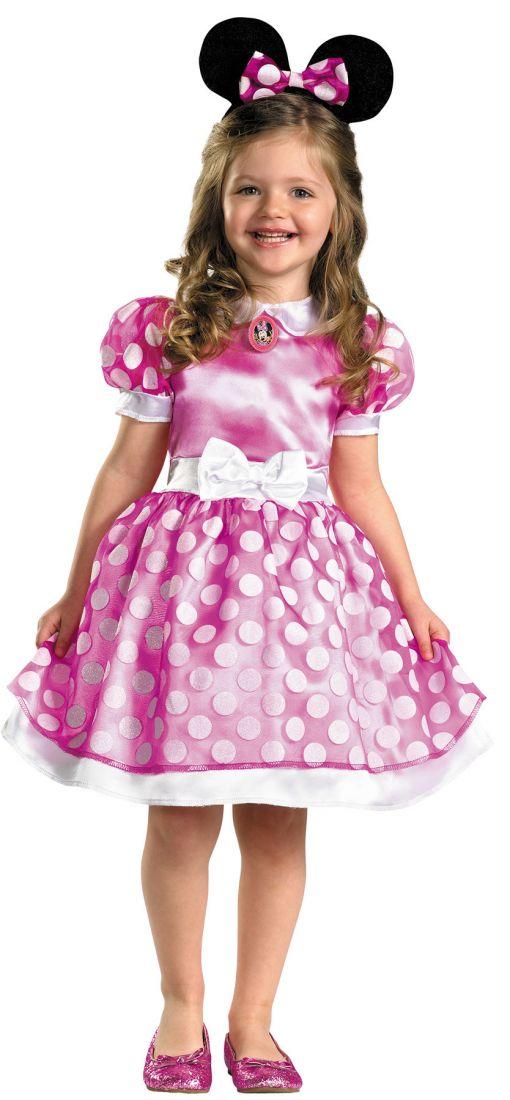 Детский костюм Минни Маус в розовом