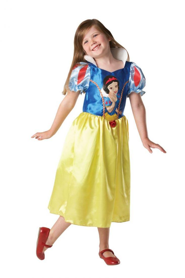 Детский костюм доброй белоснежки
