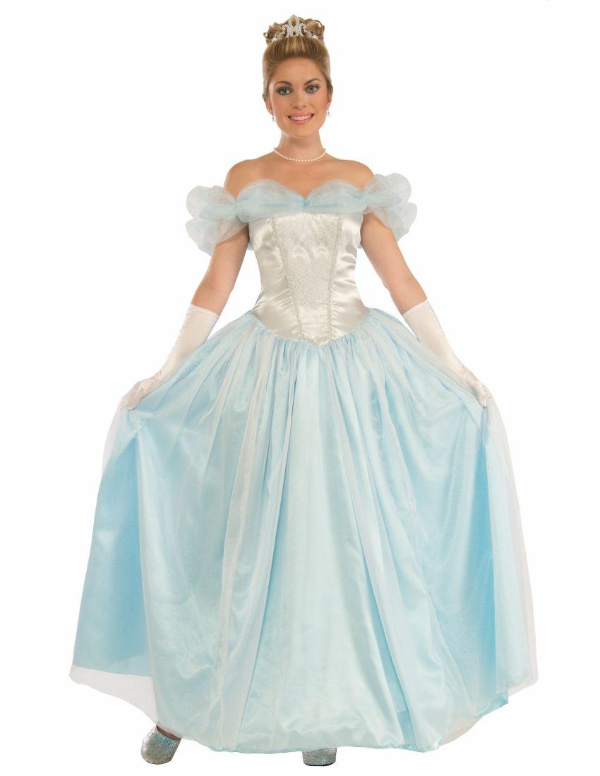 Взрослый костюм принцессы Золушки