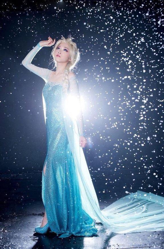 Платье Королевы Эльзы