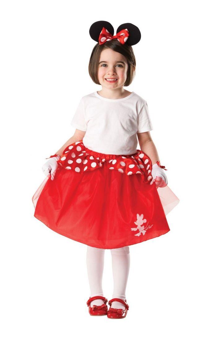 Детский красный костюм Минни Маус