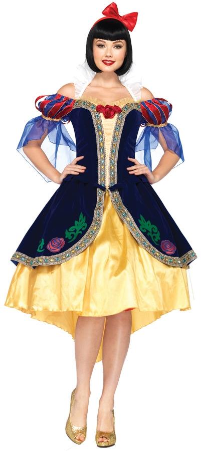 Взрослый костюм Белоснежки
