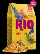 RIO Гурмэ корм для волнистых попугайчиков и мелких птиц, 250 гр
