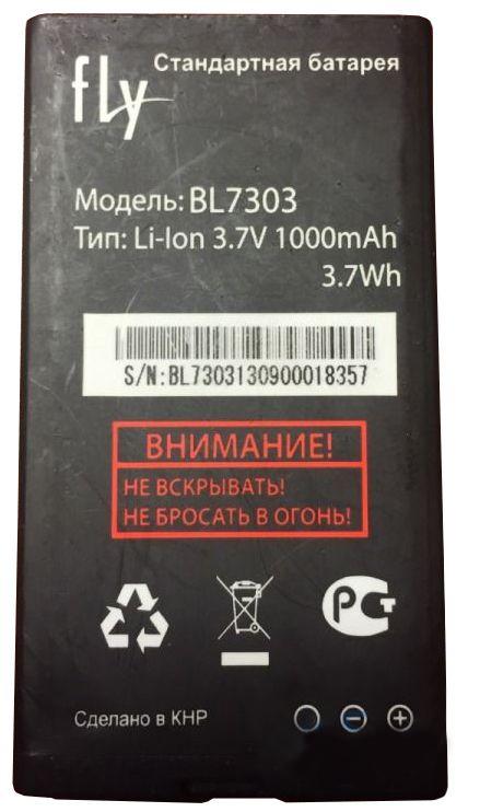 Аккумулятор Fly TS107 (BL7303) Оригинал