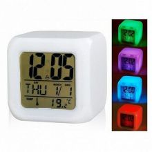 Будильник Куб с разноцветной подсветкой Color Change