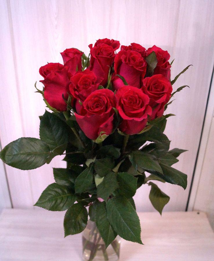 11 роз - Готча (60 см)