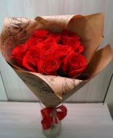 11 Красных роз (60 см)