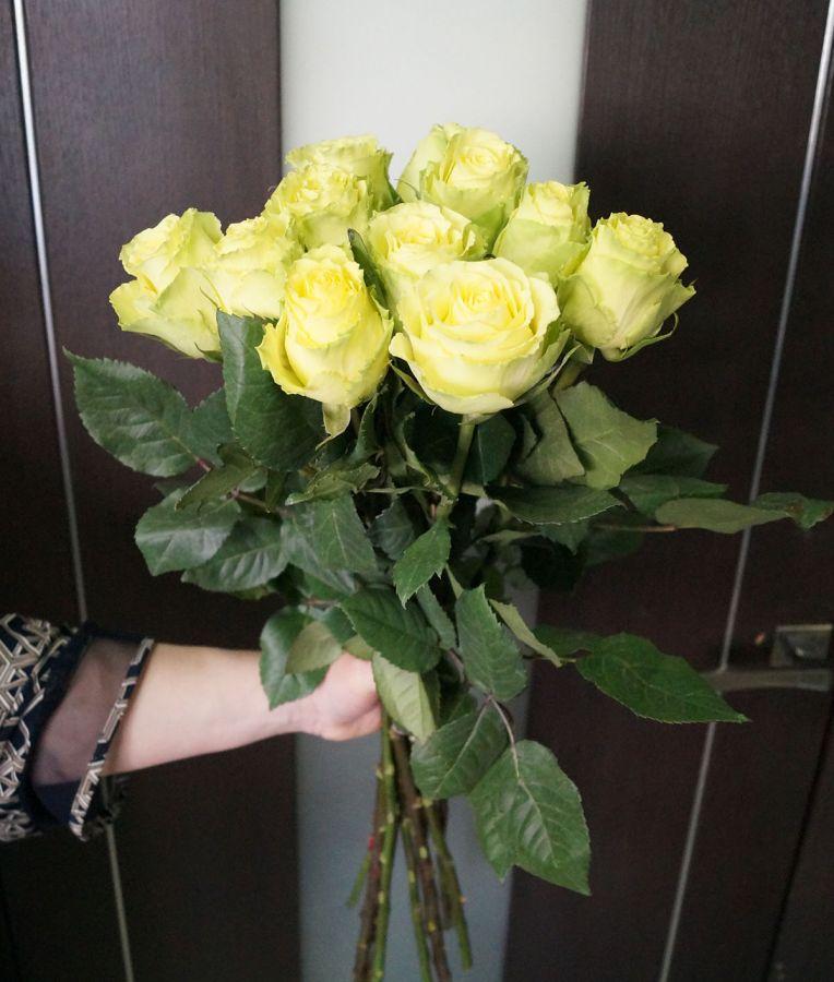 11 роз - Лимбо (60 см)