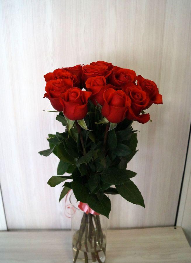 11 роз - Нина (60 см)