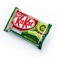 Кит-Кат Злеленый Чай, шоколадный батончик