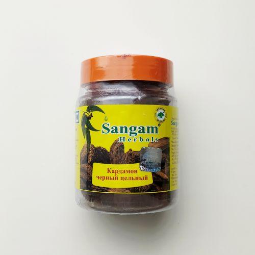 Кардамон черный целый | 50 г | Sangam Herbals
