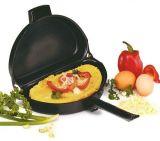 Омлетница с антипригарным покрытием Folding Omelette Pan