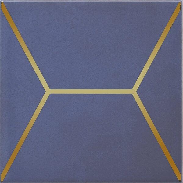OP/C181/17065 | Декор Витраж синий