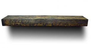 Деревянная Полка Брашированная из массива Сосны