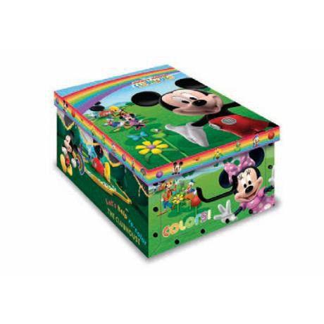 Коробка EVOLUZIONE Дизайн Микки Маус 23*32*14 cm
