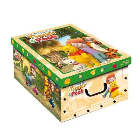Коробка EVOLUZIONE Дизайн Тигр и Пух 23 x 32 x 14 cm