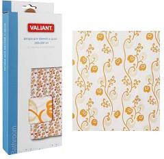 Штора для ванной комнаты 180*180см Вьюн оранжевый  Valiant арт.  309y