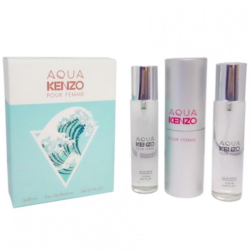 Kenzo Aqua Pour Femme 3x20 ml