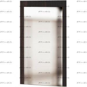 Панель с зеркалом Сокол ПЗ-3 (120х43х209)