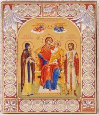 Экономисса икона Божией Матери (9х10,5см)