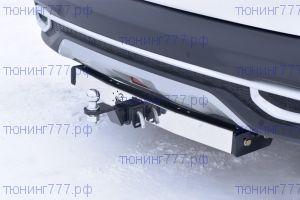 Фаркоп (тсу) PT-G, нерж. пластина, тяга 1.5т