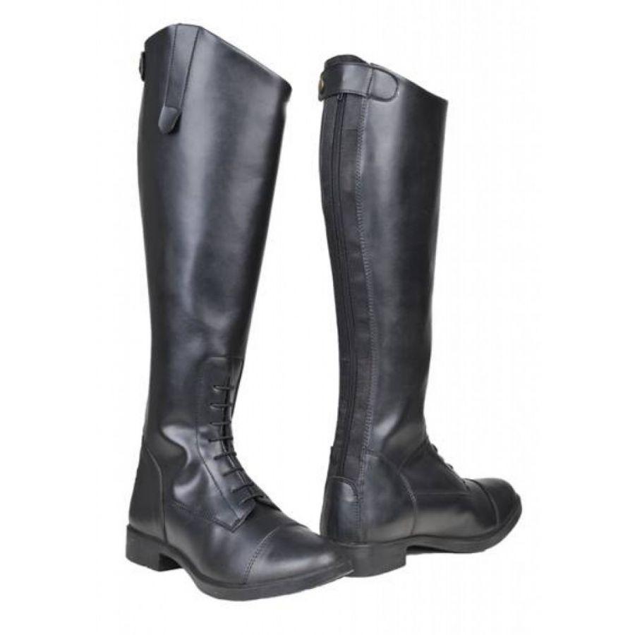 Сапоги для верховой езды -New Fashion- Удлинённое голенище. Быстрая шнуровка. HKM
