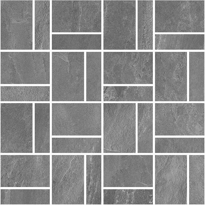 T021/DD2038   Декор Про Слейт серый мозаичный
