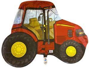 Шар ФИГУРА/11 Трактор красный/FM 75*92 см