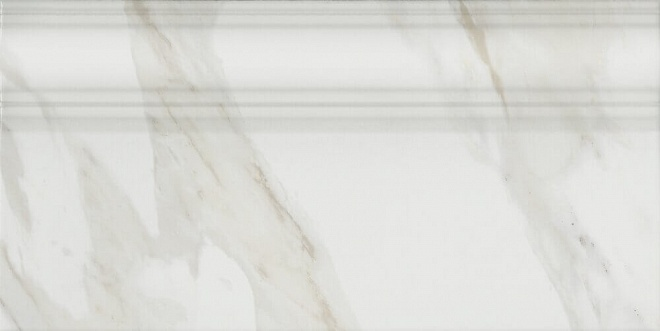 FME002R | Плинтус Прадо белый обрезной
