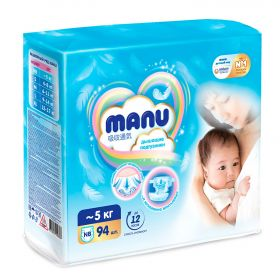 Подгузники MANU NB94